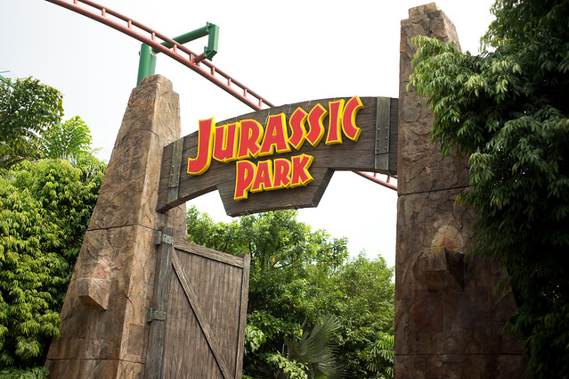 Jurassic Park Rapids Adventure | Dejiki.com