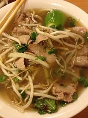 beef noodle soup(0.0), chinese noodles(0.0), chow mein(0.0), noodle(1.0), bakmi(1.0), bãºn bã² huế(1.0), mi rebus(1.0), beef chow fun(1.0), noodle soup(1.0), kuy teav(1.0), kalguksu(1.0), pho(1.0), food(1.0), dish(1.0), soup(1.0), cuisine(1.0),
