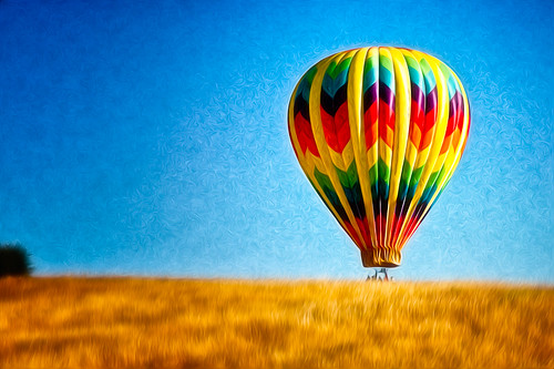 Ballooning in Napa photos
