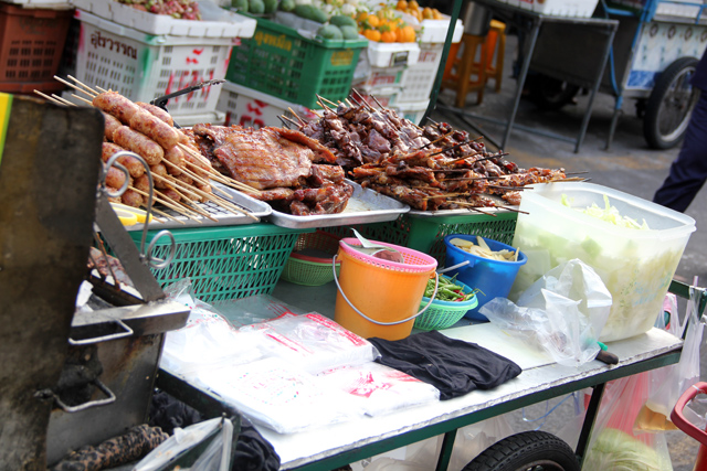 Thai Meat Cart