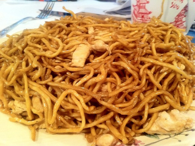 Everything is FOOD! - Chicken Lo Mein | Flickr - Photo Sharing!