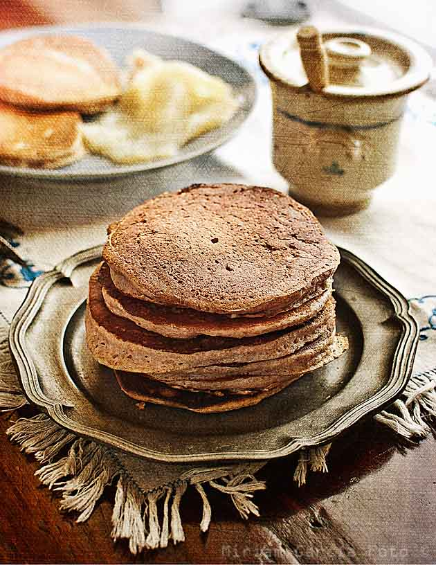 Chestnut blinis