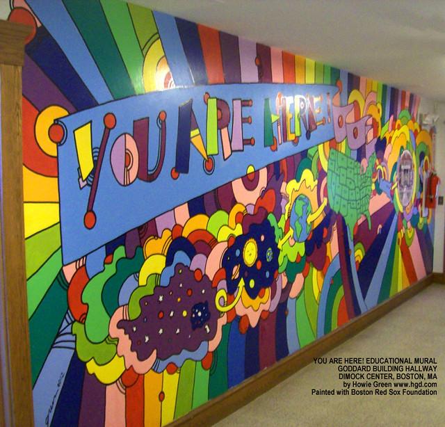 Flickriver photoset 39 pop art murals public art 39 by for Abbey road mural