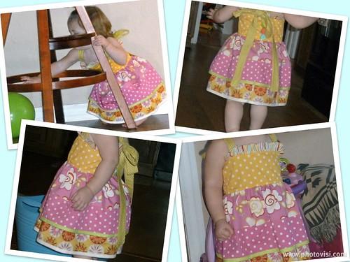 The Chloe Dress Modeled