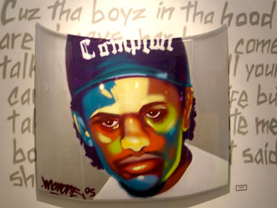"EAZY-E ""BOYZ ON THE HOOD"" BY MAN ONE"