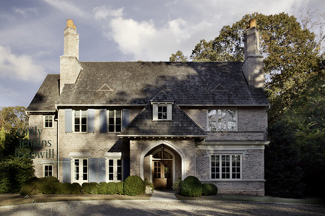 Things that inspire four beautiful homes 2012 edition for French normandy house plans