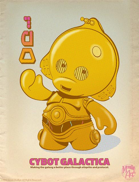 3PO Series Print
