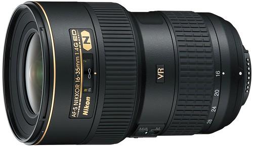 Nikon 16-35mm f/4G VR II