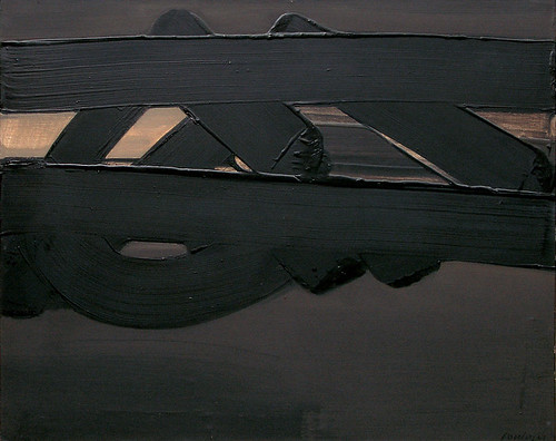 Pierre Soulages - Untitled by Gandalf's Gallery