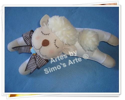 Ovelha dormindo by Artes by Simo's®