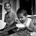 Ricebowlsmile, Village near Can Tho - Mekong Delta by adde adesokan