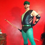 I got frustrated, so I made a Green Arrow costume. Like you do.