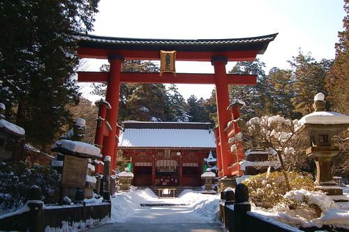 ★北口本宮冨士浅間神社から・・・