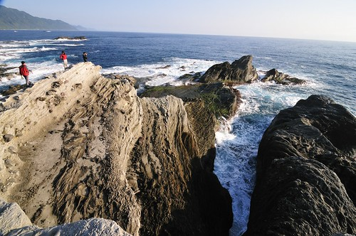 sunrise waves taiwan coastal hualien 海岸 花蓮 日出 shitiping 石梯坪 觀浪