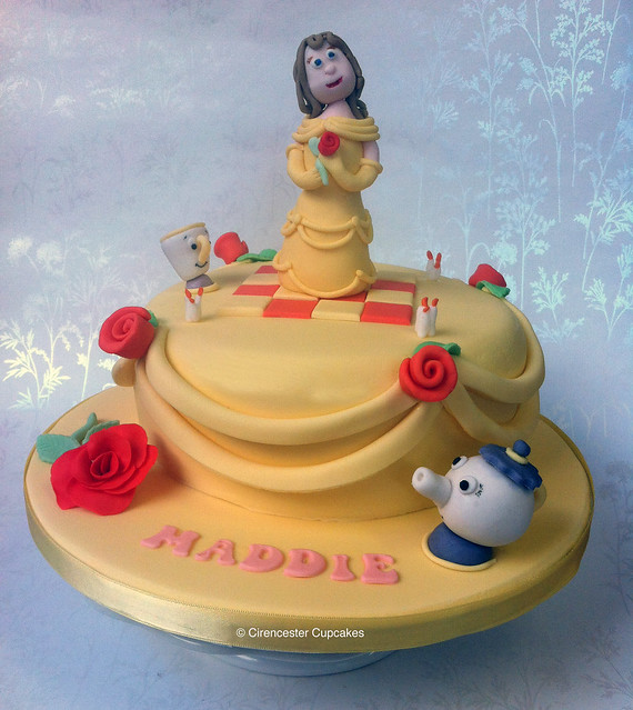 Birthday Cake - Belle, Beauty and the Beast  Flickr - Photo Sharing!