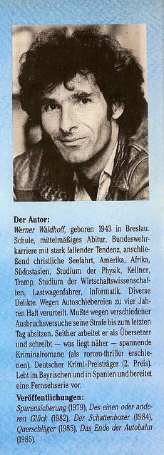 Werner Waldhoff: Der tiefere Grund des Meere, Frankfurt: Brandes & Apsel 1987