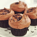 Vegan Dark Chocolate Cupcakes