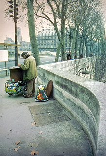 Castañero en París. 1993