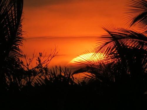 Sunset en Chelem