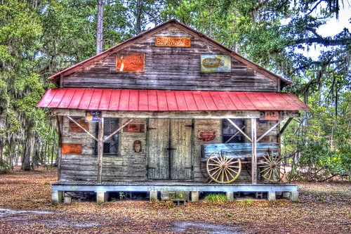 georgia landscape rusty historic dirtroad hdr oldbuilding oldsign bryancounty
