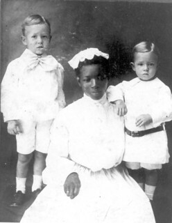 Pomeroy boys and their nurse Henrietta: Jacksonville, Florida
