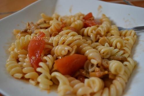 pasta-veggie