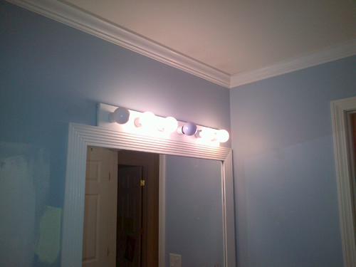 Ugly Bathroom Light Fixtures the curse of the bathroom light fixture | running notes