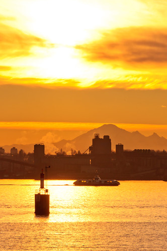 Seabus at Sunrise