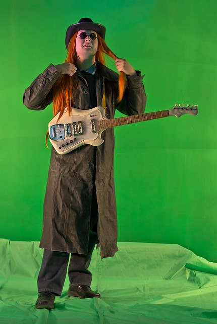 Heavy Metal Video (Green Screen)