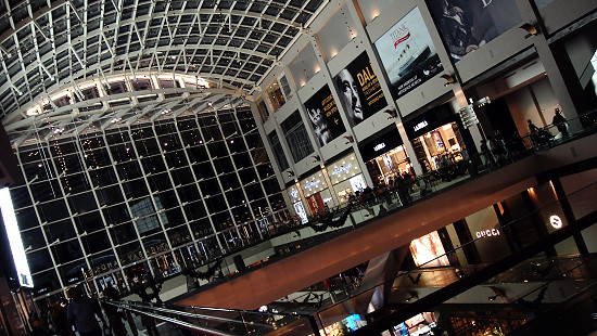Marina Bay Sands Shopping Mall