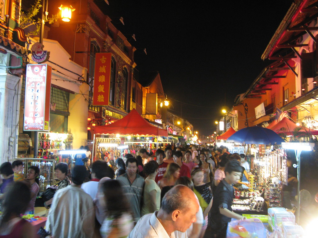 Jonker´s Street en Melaka