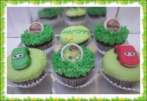 Cupcake Set Mc Queen by DiFa Cakes