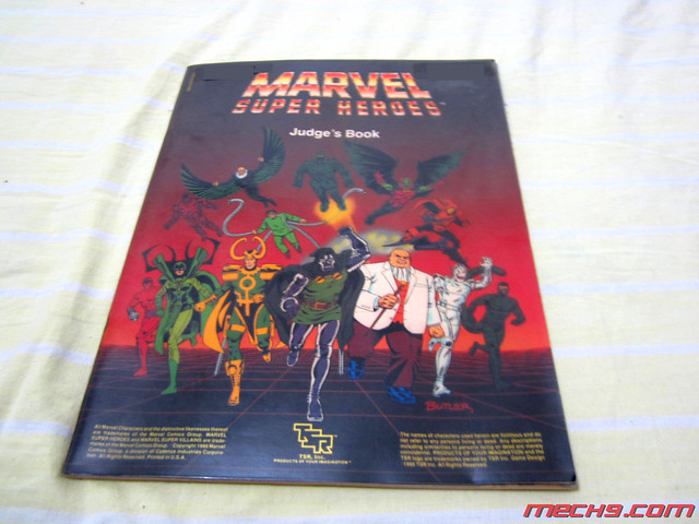Marvel Superheroes Role Playing Game by TSR