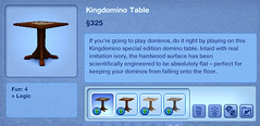 Kingdomino Table