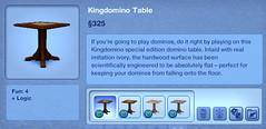 Kingdomino Table
