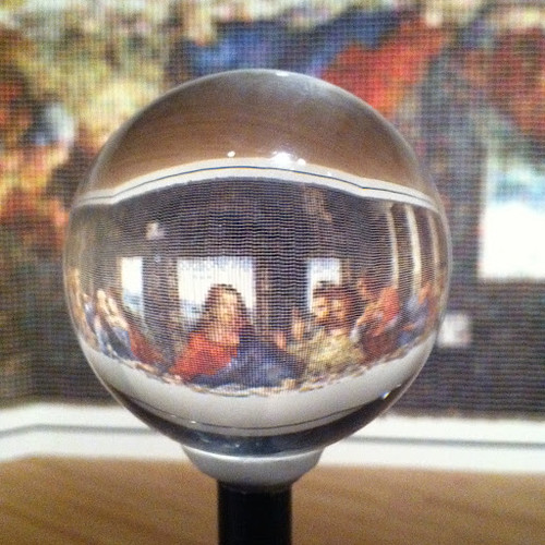 Through Glass Sphere