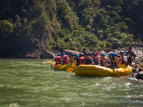 White Water River Rafting - Tabuk - Kalinga, Philippines (103204 - 120123)