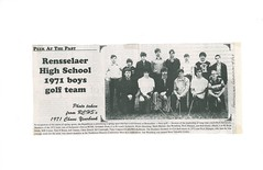 B076_Rensselaer_High_School_Boys_Golf_Team