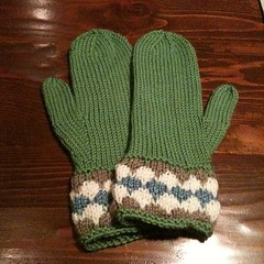 Mittens for Bethany!