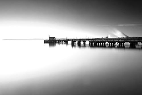 longexposure morning canon landscape dawn pier maryland baltimore patapscoriver ftarmistead 45seconds hoyand400 5dmkii singhrayrgnd ef1740f40lusm
