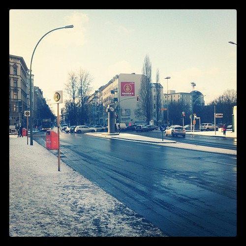 Snowy Berlin Morning (On my way to Amsterdam)