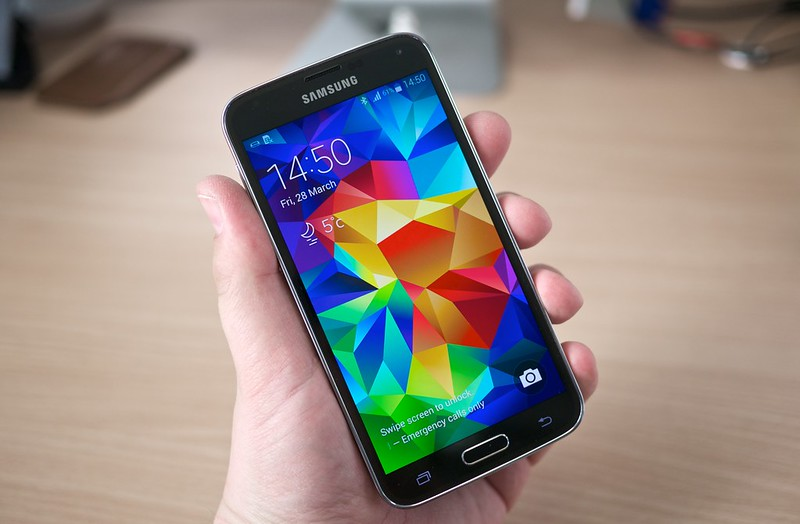 Photo:Samsung Galaxy S5 By:Janitors