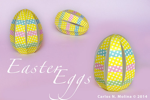 Free Craft Project of the Month - Easter Eggs