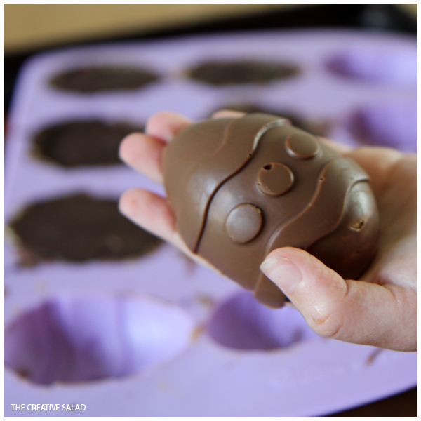 Chocolate Peanut Butter Cup Easter Eggs