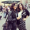 "#regram of me running into ""reality bites back"" author @jennpozner in union square #wbn2014 - via her phone"