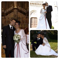 Yes, 10 years of emotions and love, I belong to you for ever @@hecla1978 #wedding #anniversary 10years 24-4-2004-2014 #love #life #family