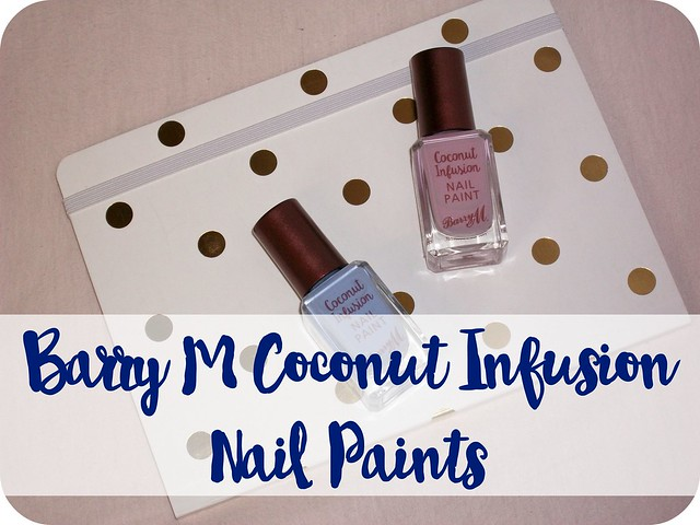 Barry M Coconut Infusion Nail Paints 1