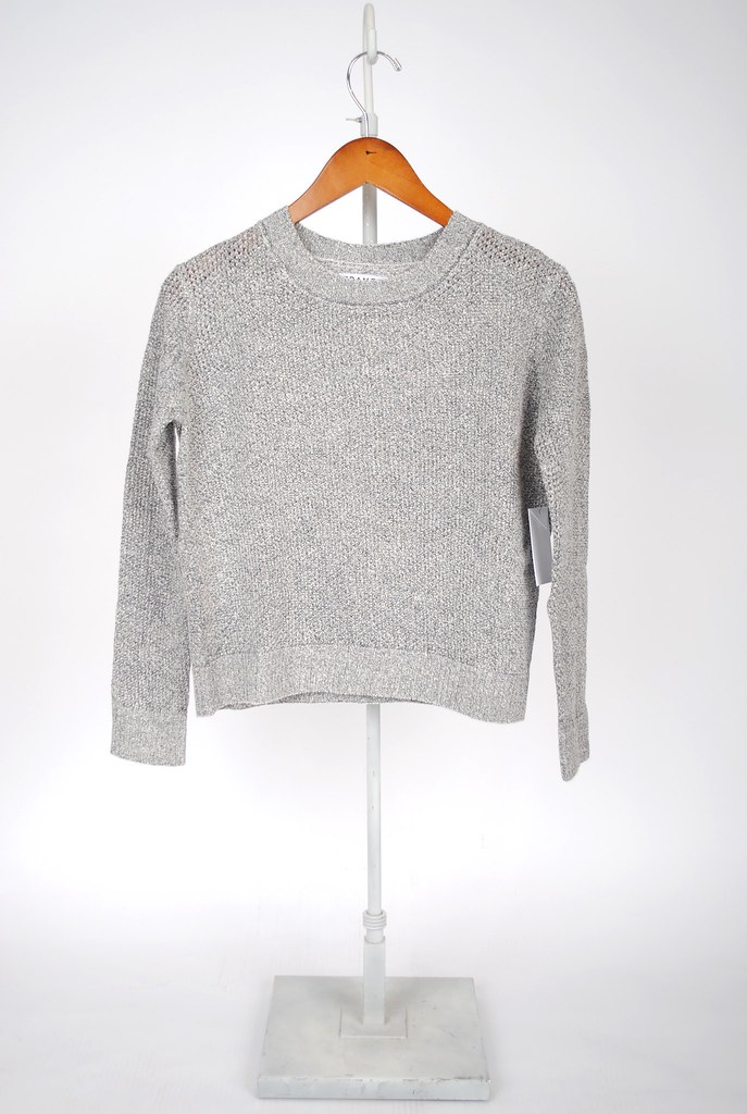 Cropped Fitted Sweater