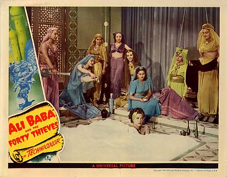 Ali Baba and the Forty Thieves - lobbycard 1