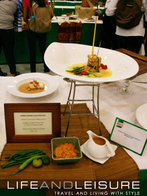 winning sinigang entry at the grand culinary challenge